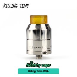 Wholesale Atomizer Nozzle - Original Killing Time RDA Tank with Spiral Suction Nozzle Vape Atomizer Fit with Vaporesso Switcher Mod