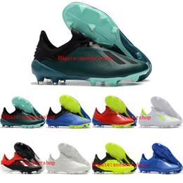 2019 botines de fútbol para hombre X 18.1 FG Zapatos de fútbol Predator x 18 botas de fútbol Tacos de futbol de alta calidad de color naranja desde fabricantes