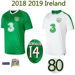 9d7befe78 2018 2019 Ireland soccer jerseys 18 19 home away Republic of Ireland FAI  DUFFY McCLEAN LONG ROBINSON football s