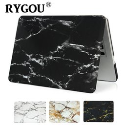 Wholesale Laptop Hard Shell Covers - RYGOU for New Macbook Pro 13 Touch Bar 2016 2017 Pro 15 A1707 Plastic Hard Case Shell for Mac Book 13 15 Retina Laptop Cover