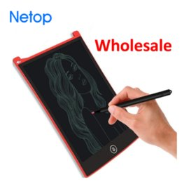 Wholesale Mechanical Tools - Netop 8.5 inch Smart LCD Drawing Tablet Graffiti Develop Kids Intelligence Home Teaching tool for Partents Free Shipping
