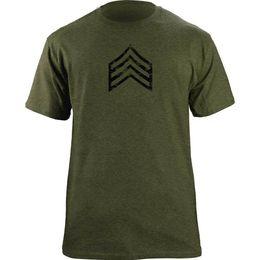 Camisa del ejército de la vendimia online-Vintage Army E-5 Sergeant Rank Veteran Camiseta