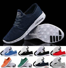 Wholesale High Fashion Red Shoes Men - Fashion SB Stefan Janoski Shoes Running Shoes For Women Men,High Quality Athletic Sports Trainers Sneakers Shoe Size Eur 36-45 Free Shipping