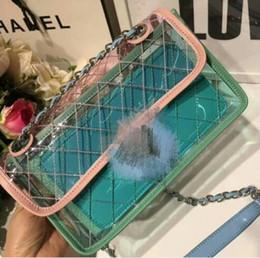 Wholesale spandex pvc - Jelly bag new women shoulder bags fashion messenger bag luxury handbags shopping bagss tote new 2018