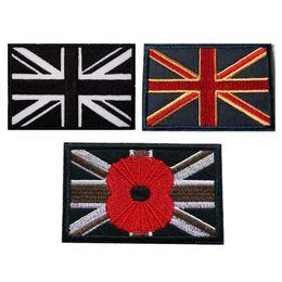REINO UNIDO Bandeiras Nacionais Patches Bordados Sew Iron On Emblemas Da Bandeira do Reino Unido Para O Saco de Calça Jeans Chapéu Camiseta DIY Apliques de Decoração Decoração de Fornecedores de artesanato britânico