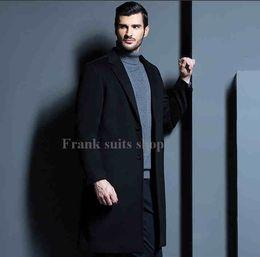 männer kaschmir langen graben Rabatt Custom made 2017 Lange Schöne Männer Kaschmir Mantel England Stil Kleidung Outwear Jacke Parka Hohe Qualität Graben