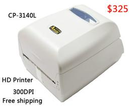 Wholesale label printer machine - Argox thermal label printer CP-3140L 300dpi Barcode sticker printer working for Jewelry label clothing tag PET PVC machine
