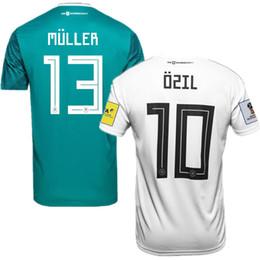 Wholesale Germany National - World Cup 2018 Germany Home Men's Short Sleeve Soccer Jerseys Futbol Camisa Deutschland National Camisetas Shirt Kit Maillot