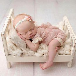 2019 фотосъемка Новый старый дерево кровать новорожденный фотографии реквизит позирует детские фотосессии корзины аксессуары фотосессия Flokati фотография реквизит кровать дешево фотосъемка