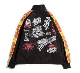 Wholesale black boyfriend jacket - yizlo bomber jacket men women windbreaker jaqueta masculina hip hop streetwear college boyfriend jackets