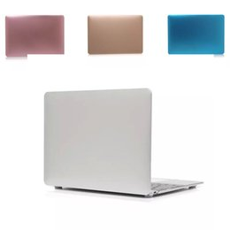 Wholesale Notebook Shell - Hot Selling New MacBook Protective Shell Air Notebook Pro Retina Abrasive Shell and Fashion Style Ventilation