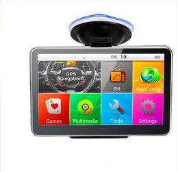 5 pulgadas Auto Car Navegación GPS Sat Nav 4GB últimos mapas 3D WinCE 6.0 FM Bluetooth AV-IN Compatibilidad opcional Multi-idiomas desde fabricantes