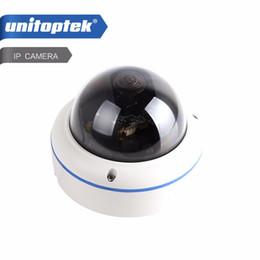 Wholesale Ip Camera Onvif Poe Outdoor - HD 720P Dome IP Camera Network 120 Degree View Outdoor Waterproof 1.0MP POE IP Camera Onvif P2P Cloud Fisheye Lens APP View