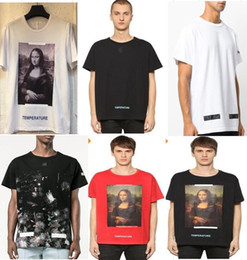 Wholesale Men White T Shirts - New Hot Fashion Sale Brand Clothing Men Print Cotton Shirt T-shirt men Women T-shirt 17 styles S-XL