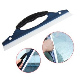 Wholesale Wiper Squeegee - Auto Car Glass Window Wash Water Squeegee Scraper Cleaner Wiper Shower Rubber