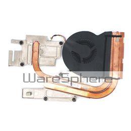 Wholesale Laptop Heatsink Fan - Free Shipping New Heatsink and Cooling Fan for Lenovo IdeaPad Y510p 90202747 AT0SF001VV0 90202747 Laptop Notebook