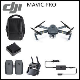 Wholesale Quadcopter Video Camera - DJI Mavic Pro 4K HD Camera Fly More Combo Folding FPV Drone With OcuSync Live View GPS GLONASS System RC Quadcopter DHL Free