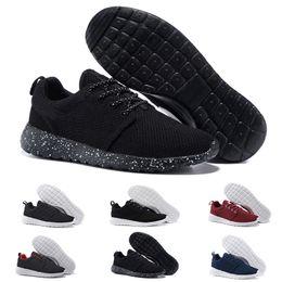 Canada En gros 2018 New London Olympic Classique Tout Noir Blanc Encre Chaussures de Course Pour Hommes Femmes Sport Londres Olympique Womans Hommes Baskets Sneaker supplier london ink Offre