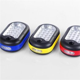 Wholesale Automobile Led Lamps - 4 Colors Wall Type Automobile Tool Lamp Multifunction Camping Lantern EDC Mini LED Lamps Easy For Carry 7ly X