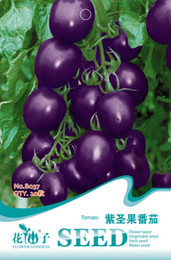 2019 sementes ornamentais de pimenta 1 Embalagem Original 20 pcs Sementes de Tomate, tomate Roxo, Nutritivo heath frutas sementes