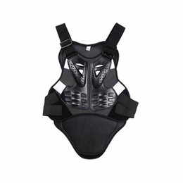 Wholesale Armor Vests - 1Pcs Men's Motorcycle Body Armor Vest Jacket Anti-fall Spine Chest Protection Riding Running Gear Chest Back Spine Protector j2