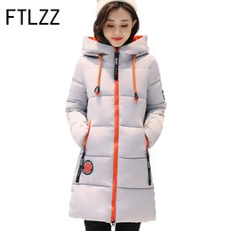Wholesale Thick Red Rope - Winter Jackets 2017 Women Jacket Female Medium Long Parka Women Cotton Jacket Abrigos Mujer Drawing rope Parka 3XL