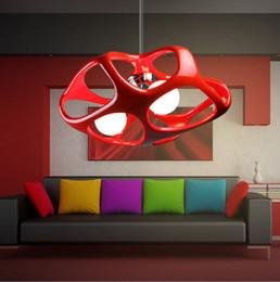 Moderna contemporânea branco preto vermelho polyresin luzes pingente LED E27 lâmpada luminárias luminária para crianças quarto sala de jantar sala de estar de