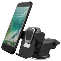 encosto de cabeça ajustável tablet Desconto Vendas quentes fácil one touch 3 suporte do telefone universal suporte do telefone para iphone x 8/8 plus 7 7 plus samsung s9 s9 mais s8 s8plus 1 pcs frete grátis