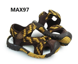 Wholesale Child Leather - Eva Stpre max Children Casual Shoes Genuine Sandals true to size, free dhl EMS over any two pairs
