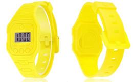 2018 de silicona Led Touch relojes relojes deportivos Reloj de pulsera digital Jelly Candy de silicona relojes unisex relojes casuales A569 desde fabricantes
