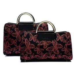 Wholesale Top Grade Handbags - Top-grade Luxury PU Patent leather butterfly pattern fashion lady handbag women evening Dinner bag Clutch hasp 3colors 171228001