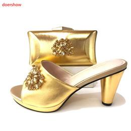 1476ed6cdf Neue Ankunfts-Schuh und Tasche, zum der italienischen afrikanischen  Hochzeits-Schuh-und Taschen-Sets zusammenpassend zusammenzubringen Schuhe  und Tasche ...