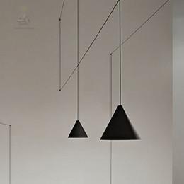 İskandinav tasarımcı yaratıcı hat kolye lamba oturma odası yatak odası modern LED geometrik modelleme sanat kolye süspansiyon ışıkları nereden