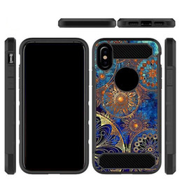 Wholesale tpu camouflage iphone cases - For LG G7 Aristo 2 Hybrid Armor Camouflage Tree Shockproof Case for Pixel XL 2 Samsung S9 Plus iPhone X 8 Opp Aicoo