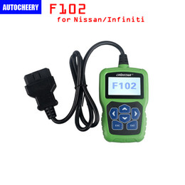 Wholesale Mazda Pin Code Reader - OBDSTAR F102 for Nissan & for Infiniti Automatic Pin Code Reader with Immobiliser and Odometer Function