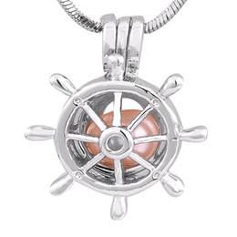 2019 pulseira de roda do navio Forma circular Navio roda gaiola pingente banhado a Prata montagem para DIY Pulseira Colar de Jóias Acessório P151 desconto pulseira de roda do navio