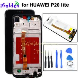Canada Huawei P20 Lite Ecran LCD + Ecran Tactile Digitizer Assemblée avec cadre pour Huawei Nova 3E Ecran LCD pour P20 lite Offre