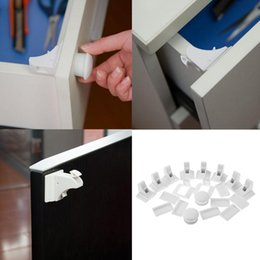 Wholesale cabinet solid - Multifunctional Drawer Protection Baby Assembling Safety Invisible Magnetic For Kid Safe CareKid Assembling Safety Cabinet Lock