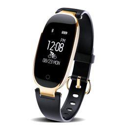 Canada S3 fréquence cardiaque montre dames sport imperméable Bluetooth usure étape compteur santé smart bracelet activité tracker mi bande 2 supplier bluetooth smart watch heart rate Offre