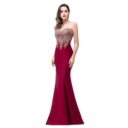 Wholesale Host Green - Sexy Ladies Evening Dress Womens O-neck Backless Strapless tube dress Host Party growns Long Maxi Dressses Slim Bodycon 2018 New Clothing
