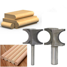 Wholesale carbide router cutters - Semicircular Wood Milling Cutter Solid Carbide Router Bit Cutters Arc Knives Fresas Para Madeira CNC Woodworking Tools