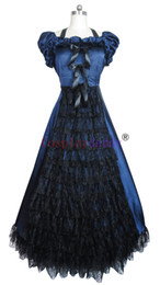 Wholesale Gown Games - Southern Belle Civil War Lolita Gown Dress Prom cosplay 037 H008