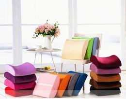Wholesale Car Seat Lumbar Pillow - Memory Foam Lumbar Back Support Cushion Pillow for Office Home Car Seat Chair