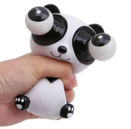 Giocattoli pop eye online-Hot Squeeze Popping Eyes OutDoll Giocattolo antistress Cartoon Animal Stress Relief Panda Decompression Giocattoli per bambini Scherzo scioccante Regalo