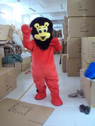 Karikatür aslan Maskot Kostüm Yetişkin boyutu Sevimli lions Kıyafet Cadılar Bayramı Chirastmas Parti Fantezi Elbise Ismarlama supplier adult lion fancy dress costume nereden yetişkin aslan fantezi elbise kostüm tedarikçiler
