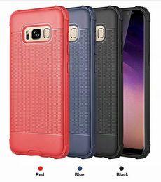 handy-slip-fall Rabatt Luxus Shockproof Soft TPU Fall für Galaxy Note 9 S9 S8 (J4 J6 plus A6 A8) 2018 rutschfeste Rubiks Cube Fashion Rugged Handy Skin Cover