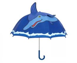 Canada Nouveau Adorable Créatif Dessin Animé Animal Pluie Parapluie Pour Enfants Étanche Coupe-Vent Parasol Parapluie Bébé Enfants C531 Offre