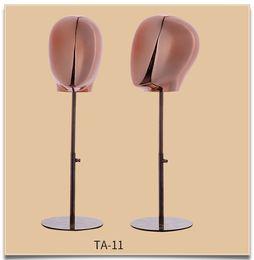 sesso dei modelli sexy Sconti Mannequin della testa dell'esposizione di MaleFemale del nuovo stile di alta qualità con la base sullo spettacolo