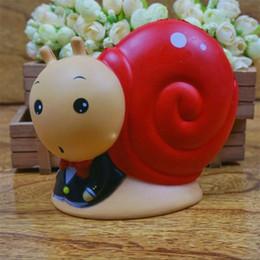 2019 brinquedos de caracol Caracol Jumbo Lento Rising Squishy Kawaii Squishies Pão Super Macio Scented Decompression Adereços Educação Precoce Do Bebê Decorar Brinquedos 25 y Y brinquedos de caracol barato