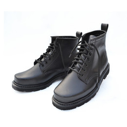 Wholesale Anti Puncture - Cowhide Leather Boots Mens mingmian winter warm insulation protection safety shoes wear non slip waterproof anti smashing puncture